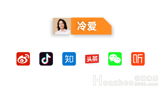 """花鎮自媒體""""冷愛""""入選新榜""""2019中國微信500強""""年度榜單"""