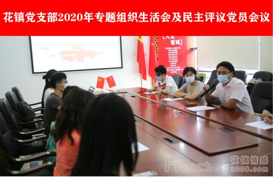 花镇党支部2020年专题组织生活会圆满召开